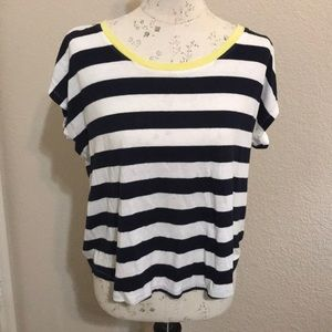 Talbots Cropped Tee